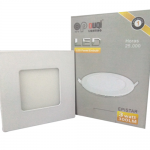 Plafon LED de embutir de 03 Watts